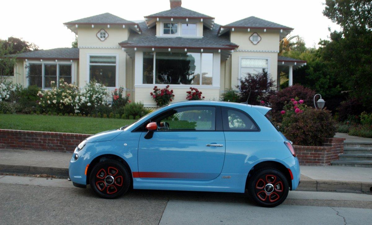 2016 Fiat 500e, road test, EV, electric car