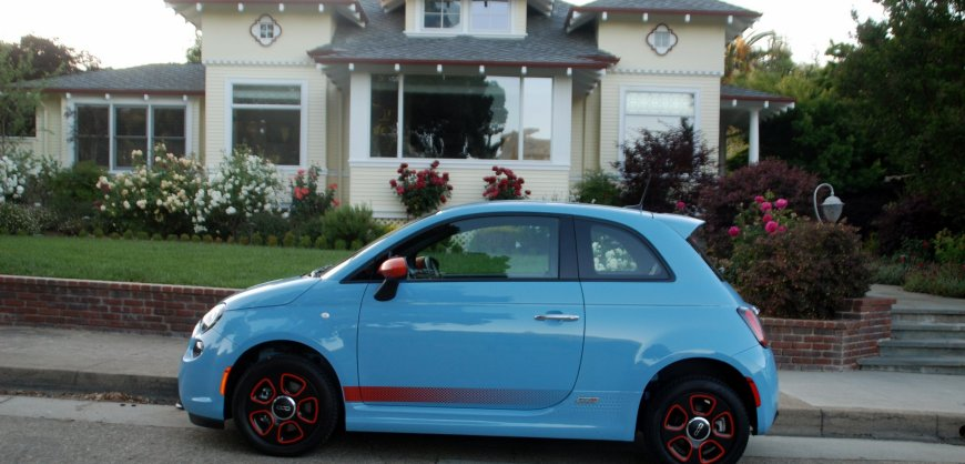 2016 Fiat 500e, road test, EV, electric car