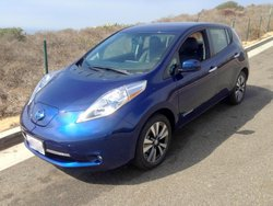 2016 Nissan Leaf SL, mpg, fuel economy, EV , electric car