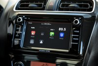 2017 Mitsubishi Mirage,infotainment,Apple Car Play