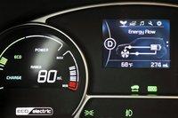 2016 Kia Soul EV,gauges
