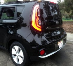 2016 Kia Soul EV, electric car