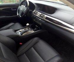 2016 Lexus LS 600h L,interior, transmission