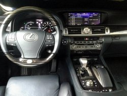 2016 Lexus LS 600h L,interior, luxury