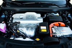 2016 Lexus ES 300h,hybrid,engine