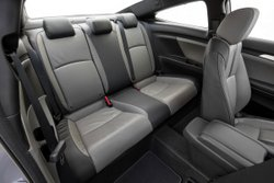 2016 Honda Civic Coupe,interior, back seat