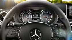 2016 Mercedes-Benz B250e,gauges
