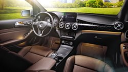 2016 Mercedes-Benz B250e,interior,luxusty
