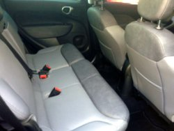 2016 Fiat 500L,interior, rear seat