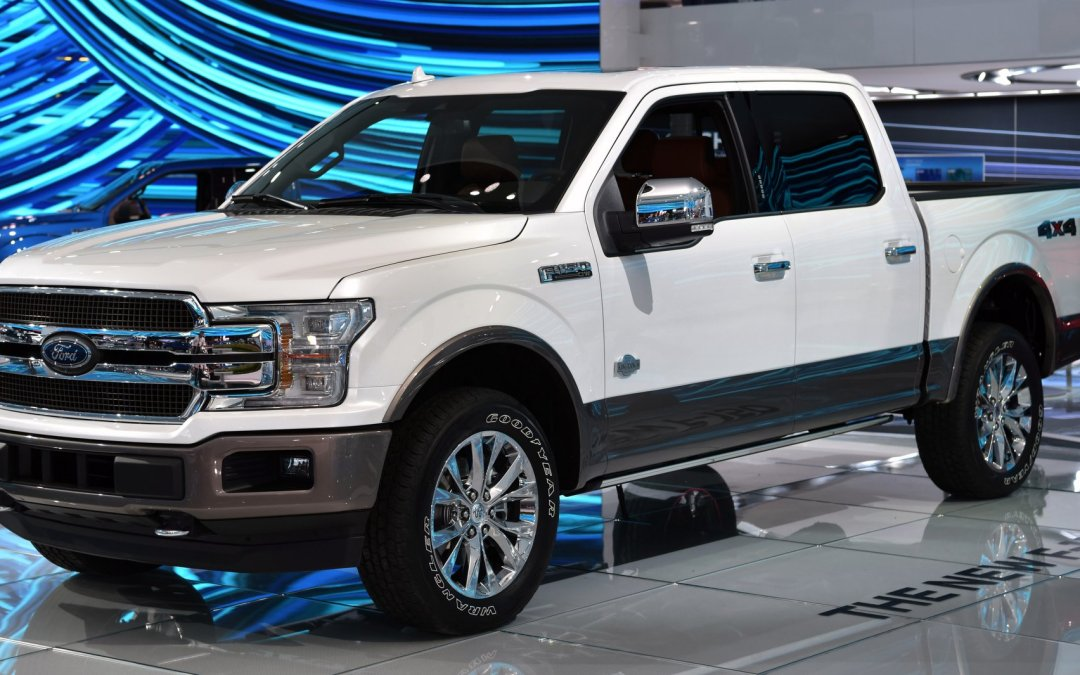 News: Ford Takes Cover Off 2018 F-150 Pickup