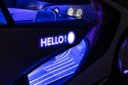 Toyota Concept-i , communication
