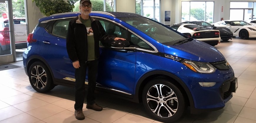 Steve Schaefer & his Chevrolet Bolt