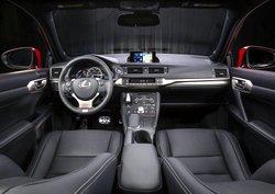 2017 Lexus CT 200h,interior