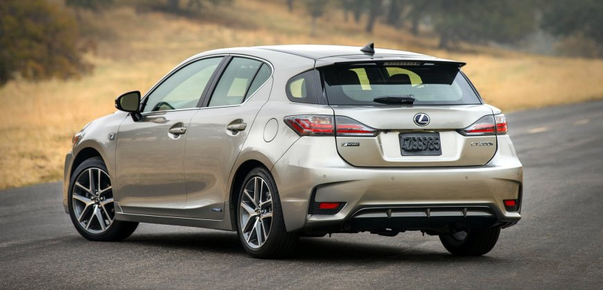 Road Test 2017 Lexus CT 200h F Sport Clean Fleet Report