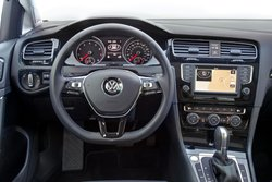 2017 Volkswagen Golf TSI, dash