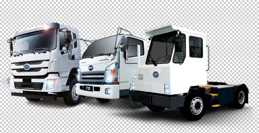 BYD electric trucks