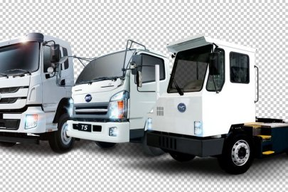 BYD electric trucks