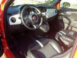2017 Fiat 500e, interior