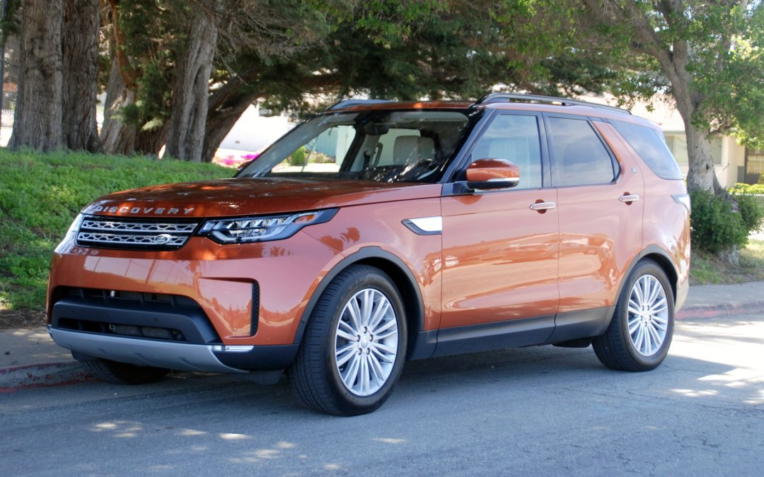 First Drive: 2017 Land Rover Discovery Td6