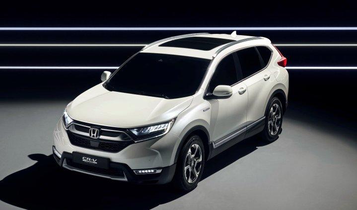 News: Honda Unveils CR-V Hybrid at Frankfurt Motor Show