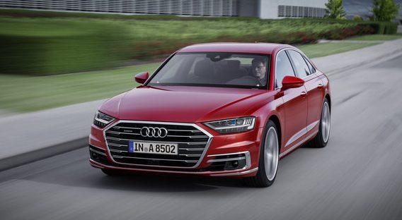 News: 2019 Audi A8 Rolls into Frankfurt With 48-Volt Hybrid System