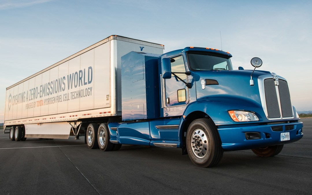 News: Toyota Tests Fuel Cell Heavy-Duty Truck