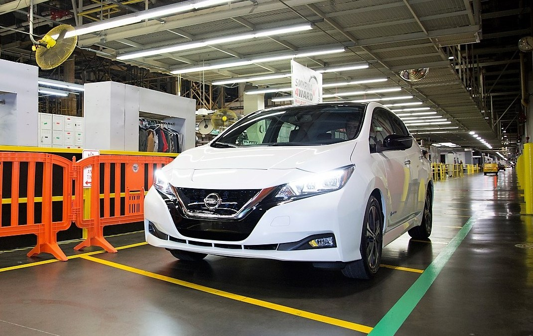 News: 2018 Nissan Leaf Electric Car Production Starts in US