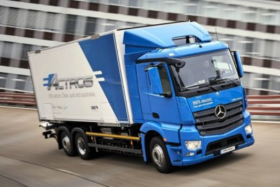 Mercedes-Benz eActros Electric Truck