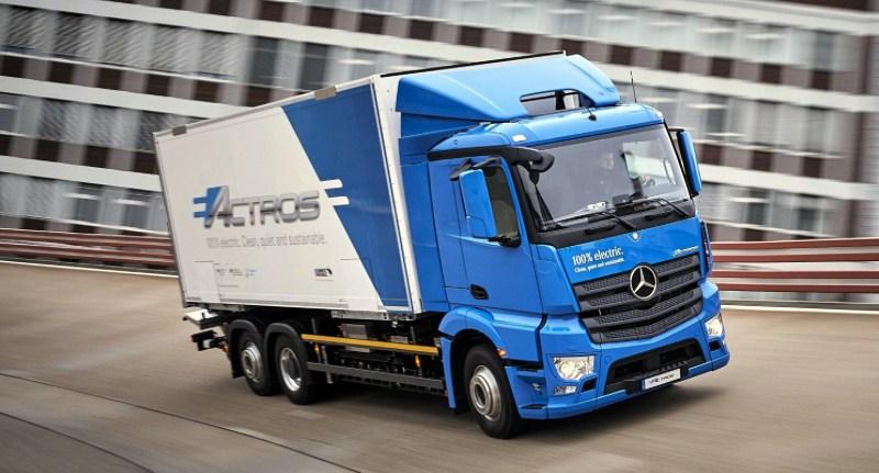 News: Mercedes eActros Electric Truck Begins Customer Testing