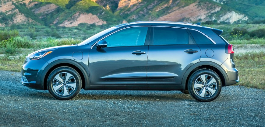 road test 2018 kia niro plug in hybrid clean fleet report. Black Bedroom Furniture Sets. Home Design Ideas