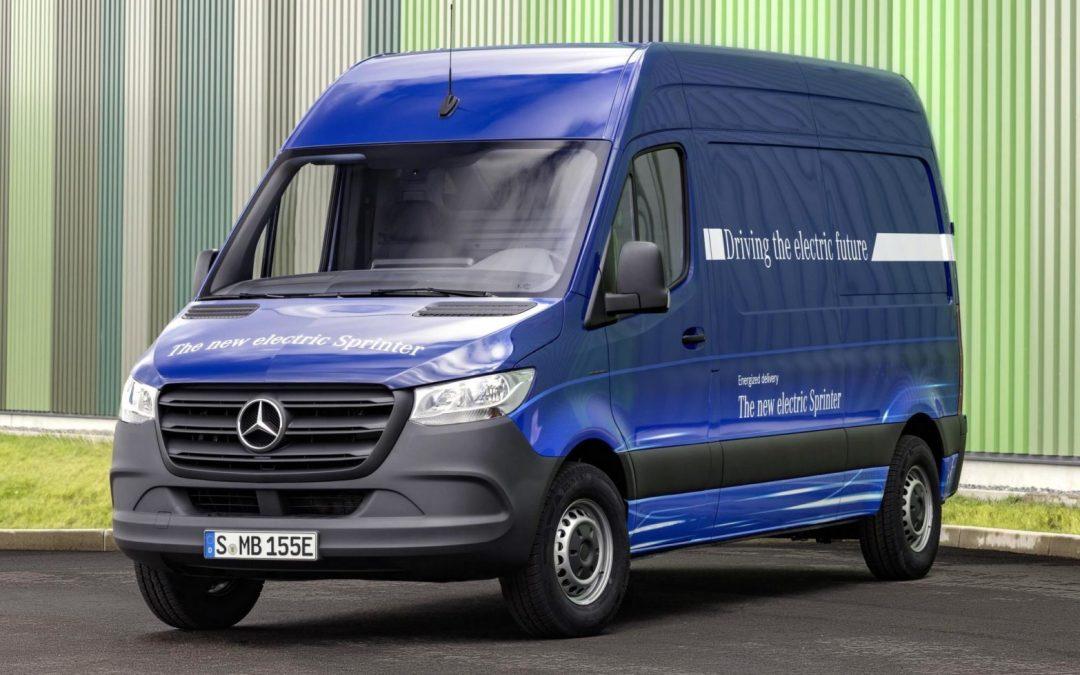 News: Mercedes-Benz Electric  eSprinter Van Debuts