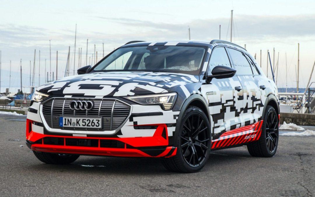 News: Audi e-Tron Swarms the Streets of Geneva