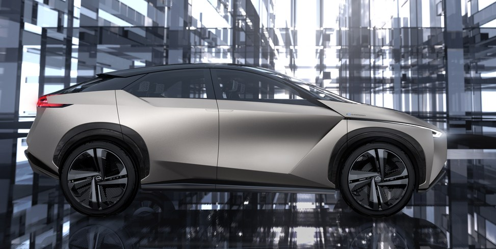 News: Nissan IMx Electric CUV One of Eight New EVs