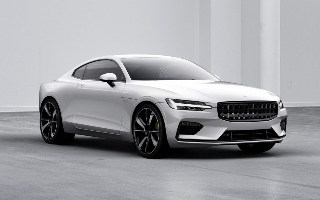 News: Volvo Electric Performance Brand Polestar Displays First Car/Showroom