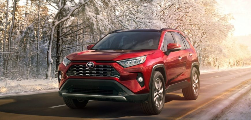 News 2019 Toyota Rav4 Shown In Ny Clean Fleet Report