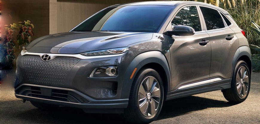 news 2019 hyundai kona ev details revealed clean fleet report. Black Bedroom Furniture Sets. Home Design Ideas