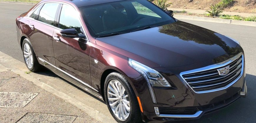 Road Test 2018 Cadillac Ct6 Phev Clean Fleet Report