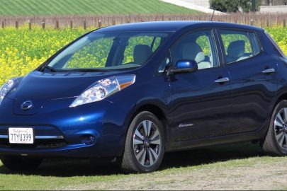 Leaf battery, 2016-17 Nissan Leaf