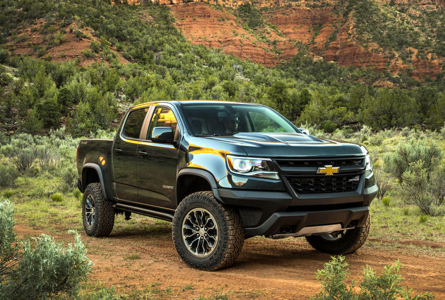2018 Chevrolet Colorado ZR2 Duiramax Diesel