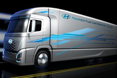 Hyundai Fuel Cell Semi