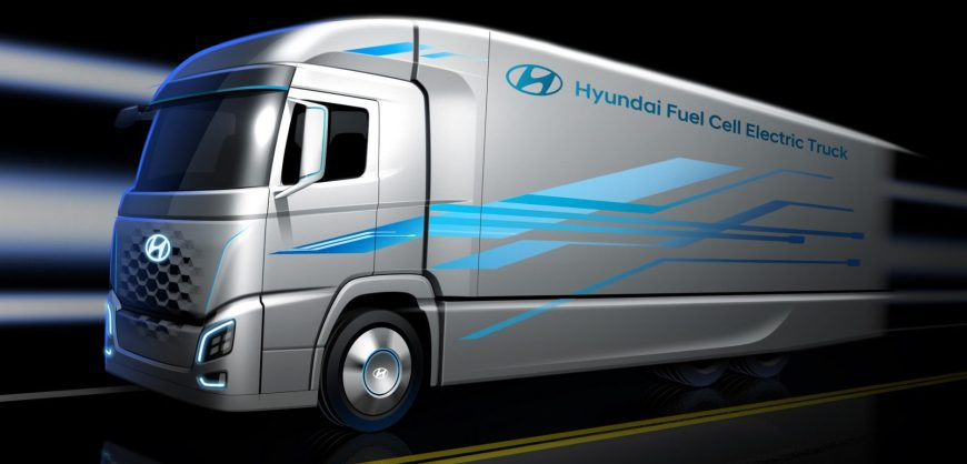 Hyundai Fuel Cell Semi