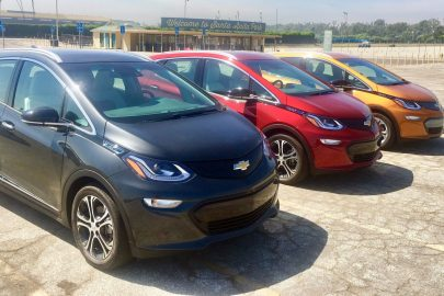 Chevrolet Bolt Autocross