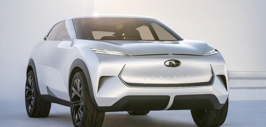 Nissan Infiniti at 2019 Detroit Auto Show