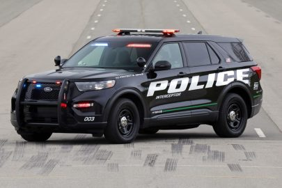 2020 Ford Explorer Hybrid Police Interceptor