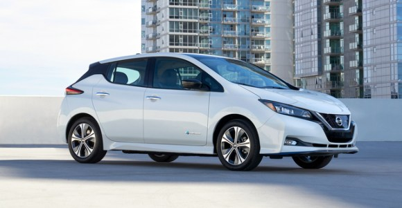 2019 Nissan Leaf Plus 62 kWh