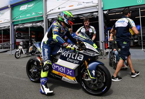 MotoE electric motorcycle racing