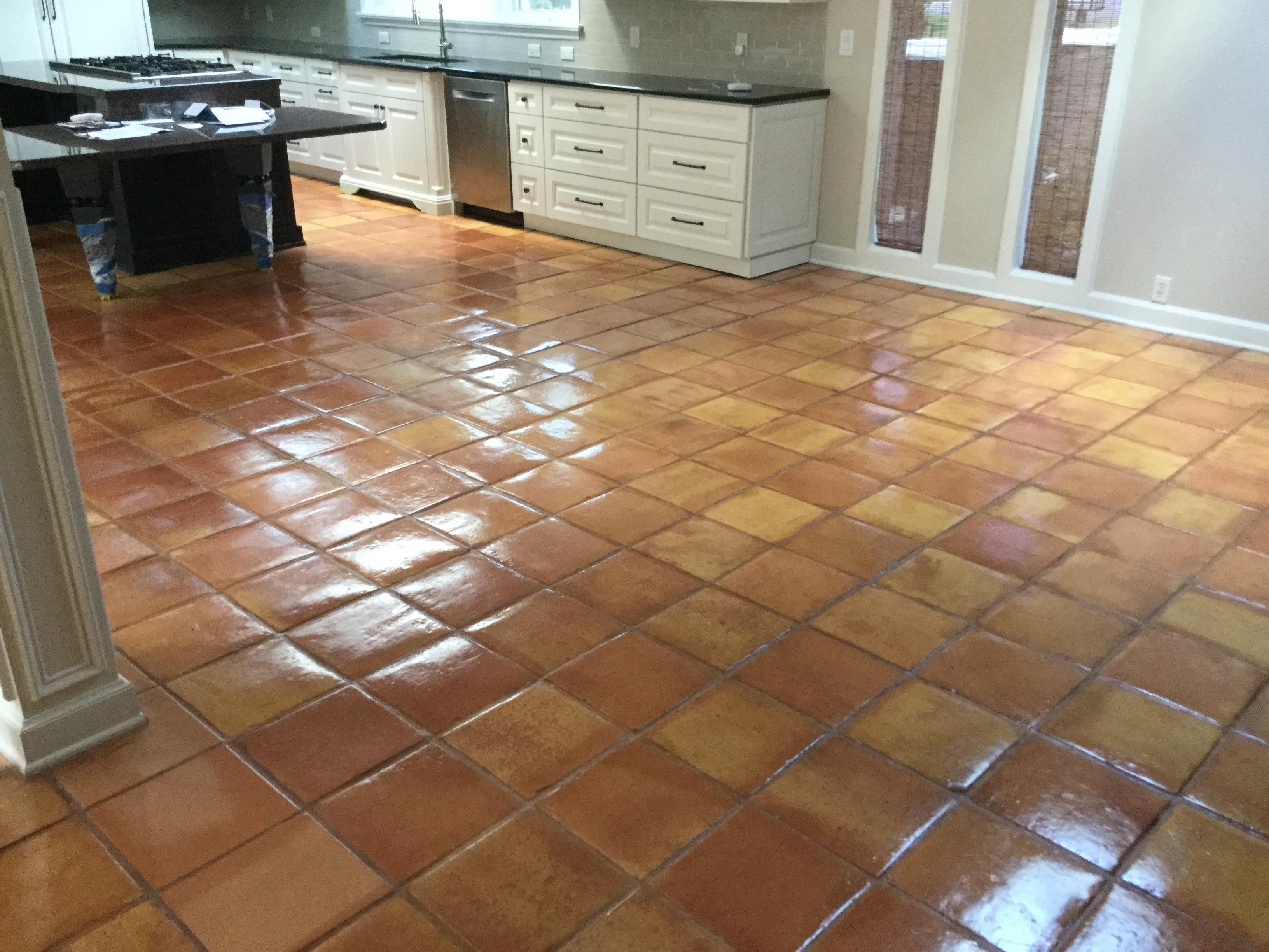 mexican tile saltillo tile clean