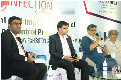 LtoR: Dr Dhruv K Mamtora, Dr Mehul Panchal, Dr Ami Varaiya and Dr Ashto Mathur