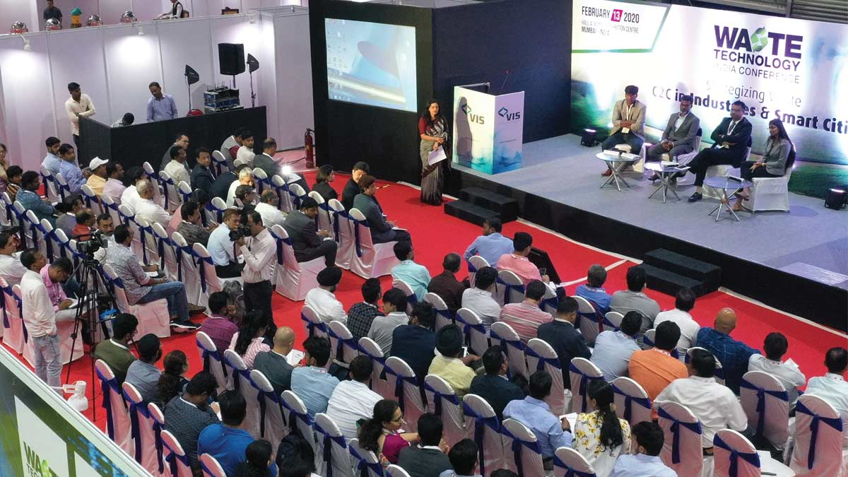 WASTE TECHNOLOGY INDIA CONFERENCE Strategizing Waste C2C in Industries and Smart Cities