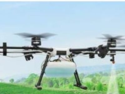 Drones to Disinfect Cities